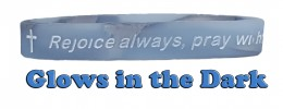 Renew Your Mind 1 THESS. 5:16-18 REJOICE ALWAYS Silicone Wristband